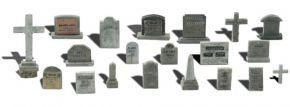 WOODLAND SCENICS WA1856 Grabsteine | 20-tlg. Set | Fertigmodell Spur H0 kaufen