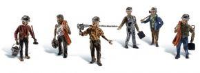 WOODLAND SCENICS WA1933 Bergleute | 6-tlg. Set | Figuren Spur H0 kaufen