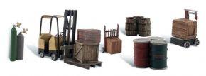 WOODLAND SCENICS WA1934 Güterumschlag   6-tlg. Set   Zubehör-Set Spur H0 kaufen