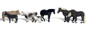 WOODLAND SCENICS WA2142 Tiere auf dem Bauernhof | 7-tlg. Set | Figuren Spur N kaufen