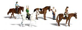 WOODLAND SCENICS WA2159 Pferdereiter | 6-tlg. Set | Figuren Spur N kaufen