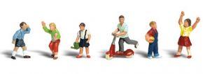 WOODLAND SCENICS WA2182 Kinder | 6-tlg. Set | Figuren Spur N kaufen