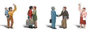 WOODLAND SCENICS WA2193 Verabschiedungen | 4-tlg. Set | Figuren Spur N kaufen