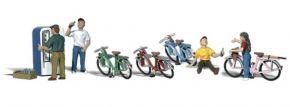 WOODLAND SCENICS WA2194 Radfahrergruppe | 9-tlg. Set | Figuren Spur N kaufen