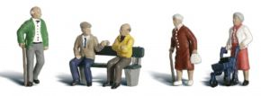 WOODLAND SCENICS WA2201 Senioren | 6-tlg. Set | Figuren Spur N kaufen