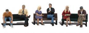 WOODLAND SCENICS WA2206 Leute auf Sitzbänken | 3-tlg. Set | Figuren Spur N kaufen
