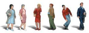 WOODLAND SCENICS WA2210 Leute unterwegs | 6-tlg. Set | Figuren Spur N kaufen