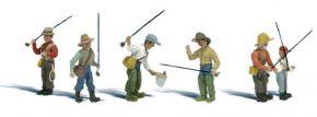 WOODLAND SCENICS WA2215 Fliegenfischer | 6-tlg. Set | Figuren Spur N kaufen