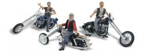 WOODLAND SCENICS WAS5344 Bad Boy Bikers   3 Stück   Motorrad-Modell 1:160 kaufen