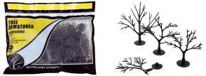 WOODLAND SCENICS WTR1121 Baumrohlinge Laubbäume biegbar | 57 Stück | Anlagenbau kaufen
