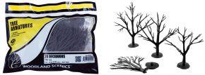WOODLAND SCENICS WTR1122 Baumrohlinge Laubbäume biegbar | 28 Stück | Anlagenbau kaufen