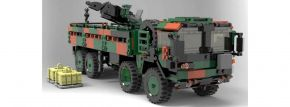 XINGBAO 06052 LKW KAT 1 MIL GL 8x8 10t Bundeswehr | Panzer Baukasten kaufen