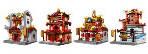 XINGBAO 01101 Street view rot 1 | 4in1 | Gebäude Baukasten kaufen