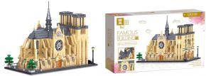 Zhe Gao QL0964 Kathedrale Notre Dame Paris | Gebäude Baukasten kaufen