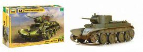 ZVEZDA 3545 WWII sowjetischer leichter Panzer BT-7 | Militär Bausatz 1:35 kaufen