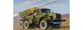 ZVEZDA 3655 BM-21 Grad Rocket Launcher | Militär Bausatz 1:35 kaufen