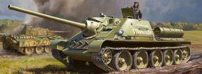 ZVEZDA 3690 Soviet Tank Destroyer SU-85 | Panzer Bausatz 1:35 kaufen