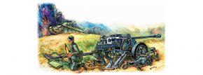 ZVEZDA 6257 Geschütz Pak - 40 | Militär Bausatz 1:72 kaufen