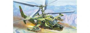 ZVEZDA 7216 Black Shark KA-50 Hokum | Hubschrauber Bausatz 1:72
