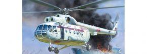 ZVEZDA 7254 MIL MI-8 Rescue Helicopter | Hubschrauber Bausatz 1:72 kaufen