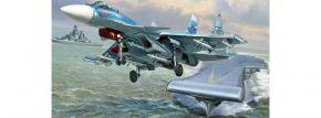 ZVEZDA 7297 Sukhoi SU-33 Flanker-D | Flugzeug Bausatz 1:72 kaufen