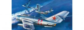 ZVEZDA 7318 MIG-17 Fresco Soviet Fighter | Flugzeug Bausatz 1:72 kaufen