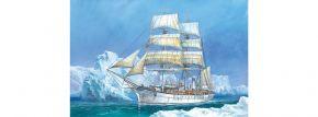 ZVEZDA 9012 historisches Segelschiff Pourquoi Pas 3-mast | Schiff Bausatz 1:100 kaufen