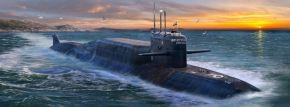 ZVEZDA 9062 Delta-IV Delfin Nuklear | U-Boot Bausatz 1:350 kaufen
