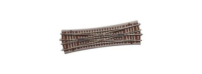 Roco 61164 Doppelkreuzungsweiche 22,5° | Geoline Spur H0