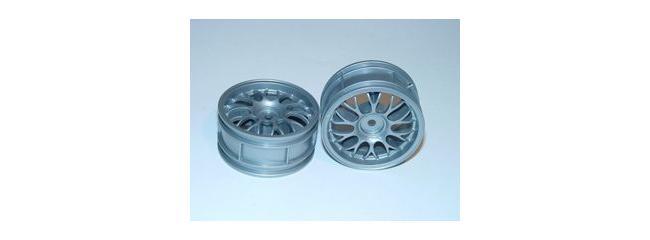 TAMIYA 0445575 BBS Felgen | silber | 26 mm | 2 Stück