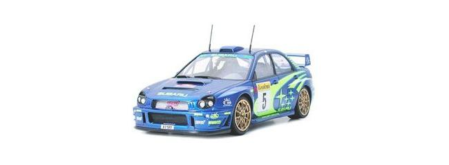 TAMIYA 24240 Subaru Impreza WRC 2001 | Rallye Auto Bausatz 1:24