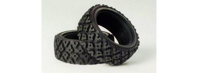 TAMIYA 50476 Rallye Block Reifen | 26 mm | 2 Stück