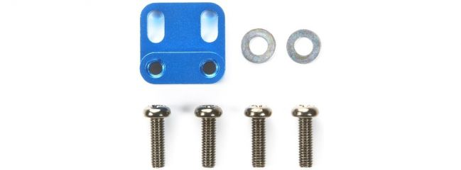 TAMIYA 54408 M-05 Aluminium Servohalterung blau eloxiert
