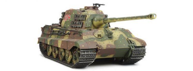 TAMIYA 56018 Panzer Königstiger Full Option Bausatz mit Multifunktionseinheit 1:16