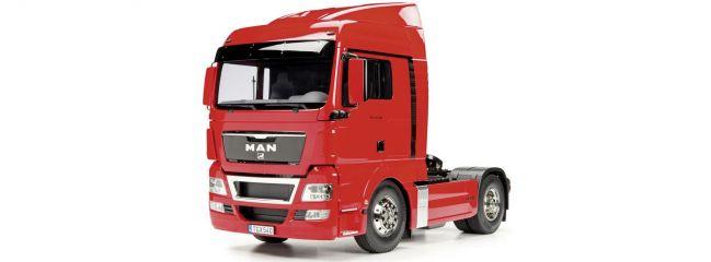 TAMIYA 56332 MAN TGX 18.540 4x2 XLX Red Edition vorlackiert | LKW Bausatz 1:14