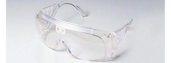 TAMIYA 74039 Schutzbrille transparent mit TAMIYA Logo