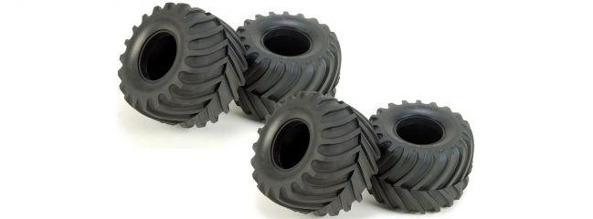 TAMIYA 9805213 Reifen Monster | 4 Stück | für Lunch Box
