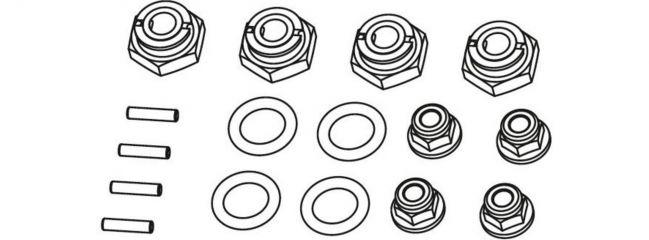 CARSON 500405343 X10EB Ersatzteile   Radmitnehmer   4 Stück