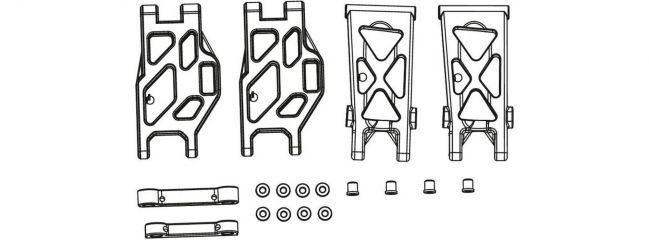 CARSON 500405351 X10EB Ersatzteile | Querlenker Set + Halter