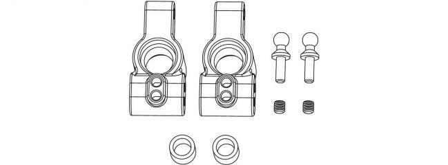 CARSON 500405352 X10EB Ersatzteile | Achsschenkel-Set hinten