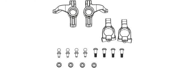 CARSON 500405354 X10EB Ersatzteile    Lenkhebel + Achsschenkel