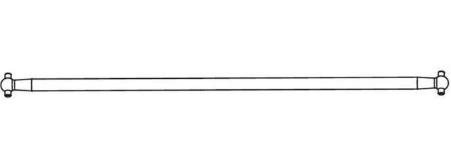 CARSON 500405359 X10EB Ersatzteile   Mittelantriebswelle Alu