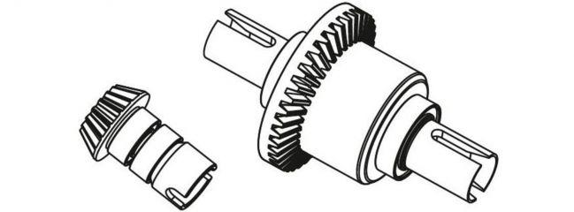 CARSON 500405362 X10EB Ersatzteile   Differenzial vorne komplett