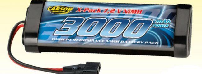 CARSON 500608117 Akku RacingPack   NiMH   7,2 Volt   3000 mAh   T-Plug