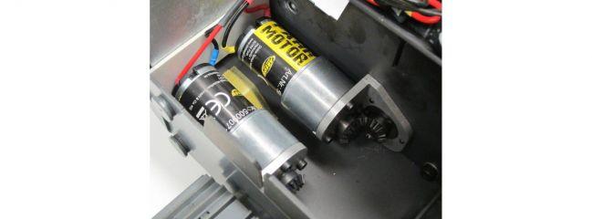 CARSON 500907106 Fahr-Getriebemotor für CARSON Liebherr Laderaupe LR634