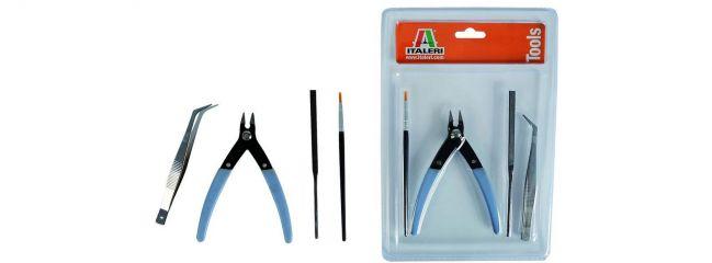 ITALERI 50830 Werkzeug-Set für Plastikmodellbau II (mehrteilig)