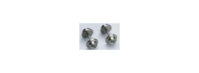 PIKO 56066 Radsatz ICE 3  Wechselstrom 10,5 mm | 2 Stück | Spur H0