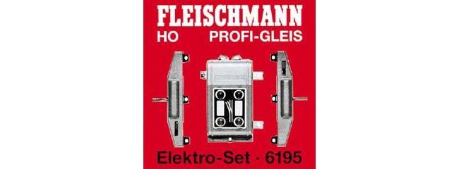 FLEISCHMANN 619501 Weichen Elektro-Set für PROFI-Gleis Spur H0