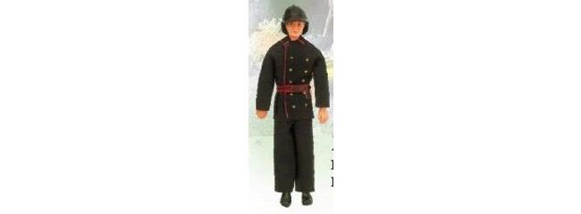 Wilesco D 311 Feuerwehrmann mit schwarzem Helm