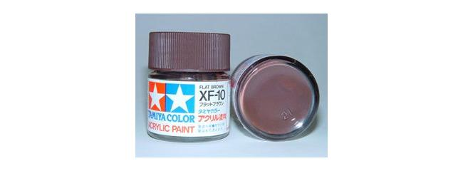TAMIYA XF-10 braun matt Streichfarbe | 23 ml |  #81310